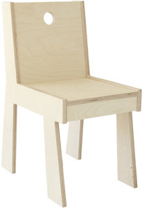 chair, natural finish